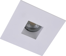 "Elegant R4-555MW - 4"" Matte White Square aperture with Matte White Square Trim ring"